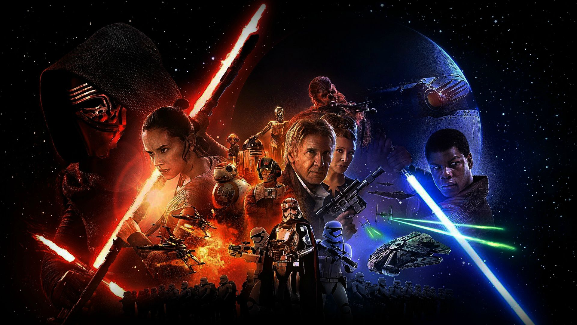 "WhatCulture's ""8 Moments Everyone Misunderstands About The Force Awakens"""