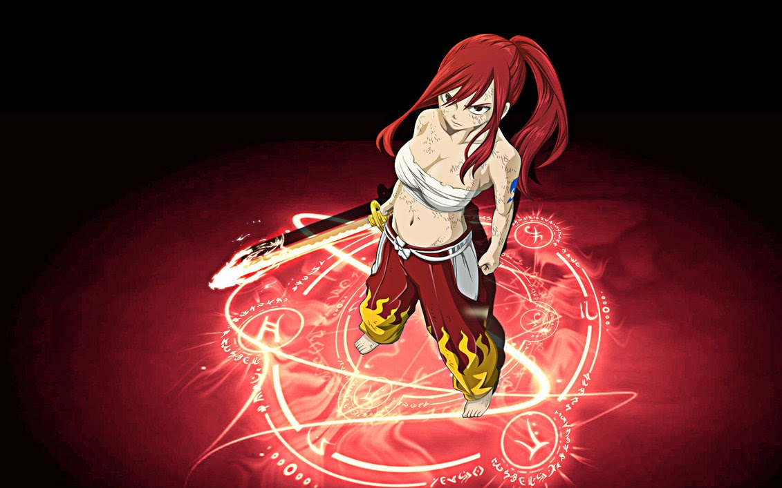 The Greatest (Fictional) Feminist Icon – Erza Scarlet